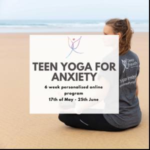 Teen yoga program